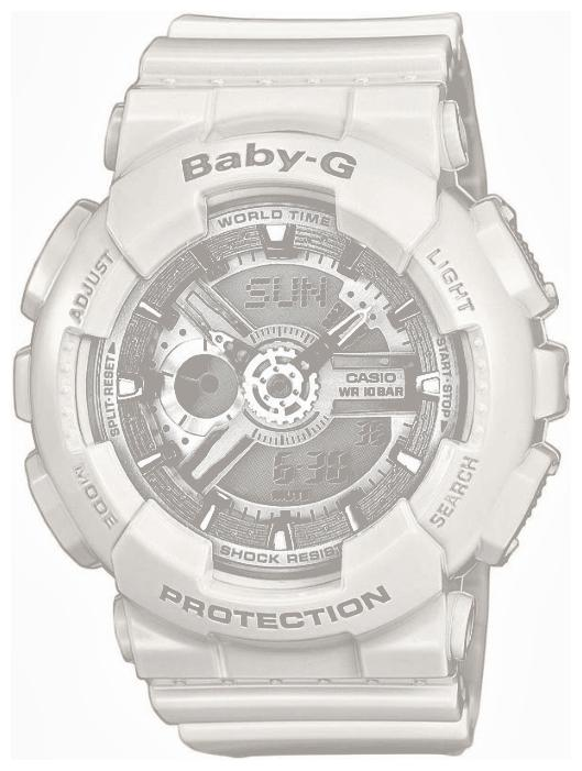 Unisex wrist watch Casio BA-110-7A3 - 1 image, photo, picture