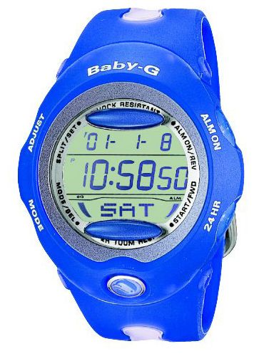 Kids wrist watch Casio BG-163-2B - 1 image, picture, photo
