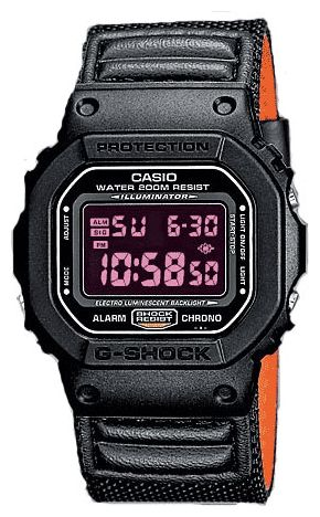 Casio DW-5600B-1A wrist watches for men - 1 picture, photo, image