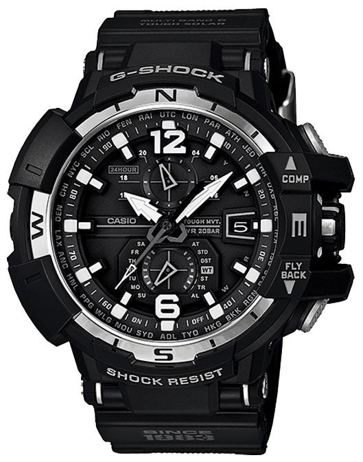 Men's wrist watch Casio GW-A1130-1A - 1 image, photo, picture