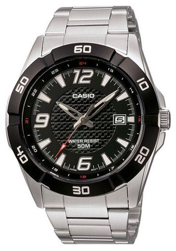 Casio MTP-1292D-1A wrist watches for men - 1 photo, picture, image