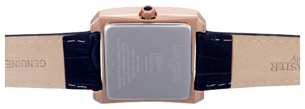 Lancaster 0635 LZRGBNBL wrist watches for women - 2 picture, image, photo