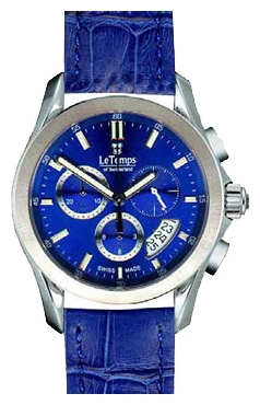 Le Temps LT1076.03BL03 wrist watches for men - 1 image, picture, photo