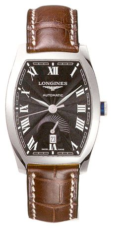 Longines L2.672.4.51.9 wrist watches for men - 1 photo, image, picture