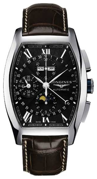 Longines L2.688.4.58.9 wrist watches for men - 1 image, picture, photo