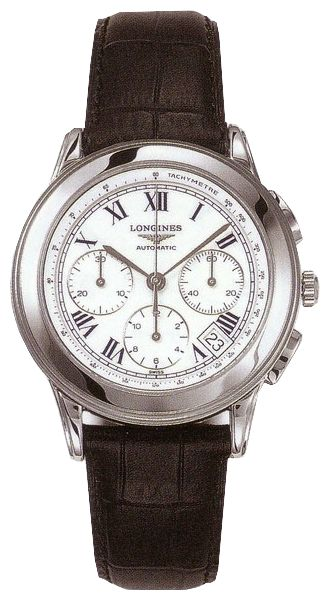 Longines L4.718.4.21.2 wrist watches for men - 1 photo, picture, image