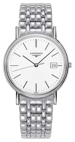 Longines L4.790.4.12.6 wrist watches for men - 1 photo, picture, image