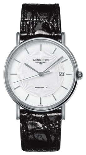 Longines L4.801.4.18.2 wrist watches for men - 1 photo, image, picture