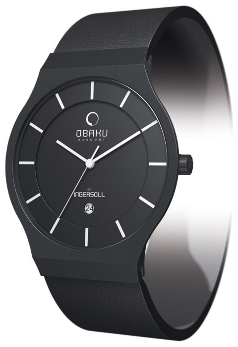 Obaku V123GBBRB wrist watches for men - 1 photo, image, picture