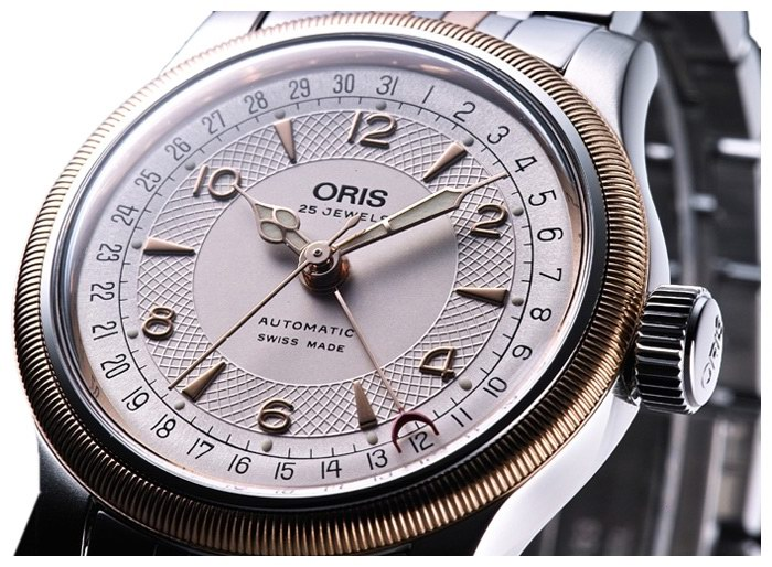 ORIS 754-7551-43-61MB wrist watches for unisex - 2 image, picture, photo