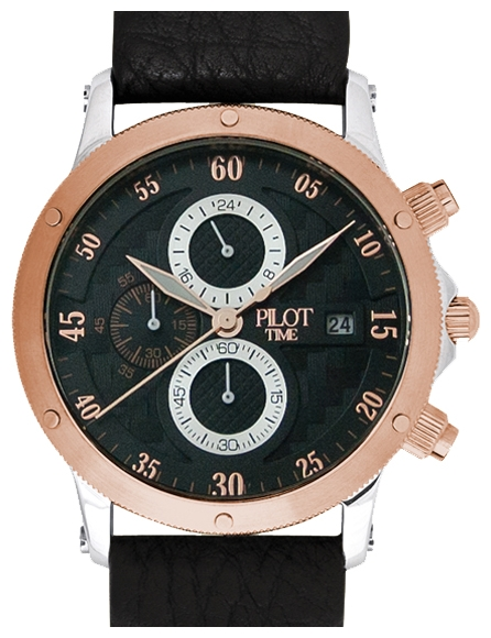 Pilot Time 6948302 wrist watches for men - 1 photo, picture, image