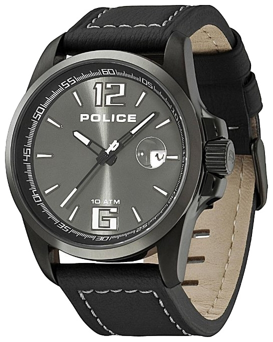 Men's wrist watch Police PL.12591JVSBU/61 - 1 picture, photo, image