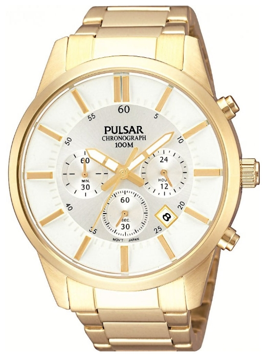 PULSAR PT3342X1 wrist watches for men - 1 photo, image, picture
