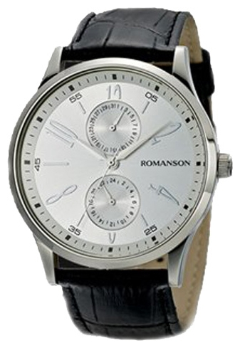 Romanson TL2648BMW(WH) wrist watches for men - 1 picture, photo, image