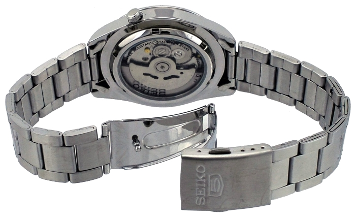 Seiko SNKM65 wrist watches for men - 2 photo, image, picture
