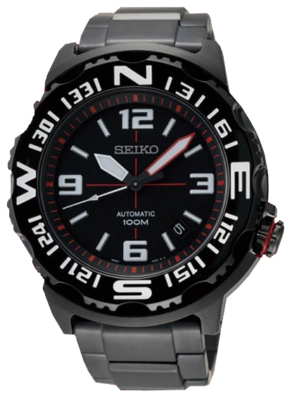Seiko SRP447 wrist watches for men - 1 photo, image, picture