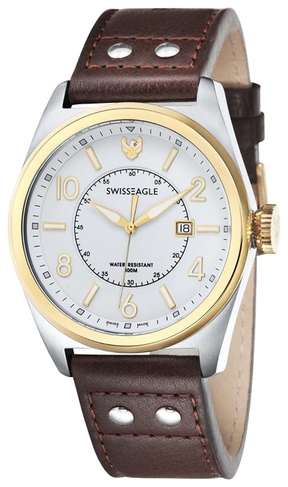 Swiss Eagle SE-9045-05 wrist watches for men - 1 photo, image, picture