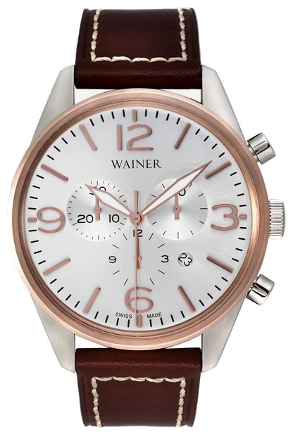 Wainer WA.13426-G wrist watches for men - 1 picture, image, photo