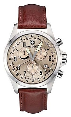 Wenger 72750 wrist watches for men - 1 picture, photo, image